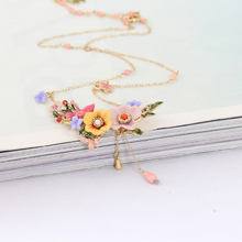 Herbaceous Flower Necklace