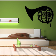 Custom Made Many Colour Trombone Musical Instruments Music Wall Stickers Wall Art Decal Transfers LP5811