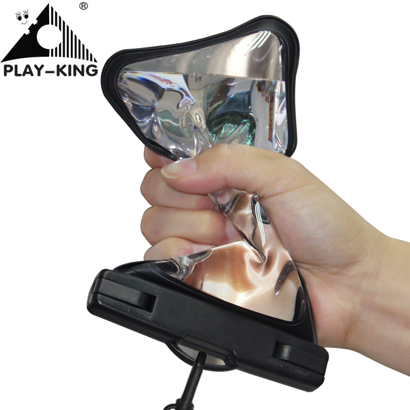 TPU Swimming Mobile Waterproof Phone Punch bag Dry Case Underwater Waterproof Phone Case For iphone 6 7 universal model 6 Inch