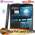 New victor à prova d' água 5 ''mbile iman telefone 32 gb rom 3 gb/4 gb RAM Android 6.0 MT6755 Fingerprint 4G LTE Octa Núcleo OTG 1920*1080