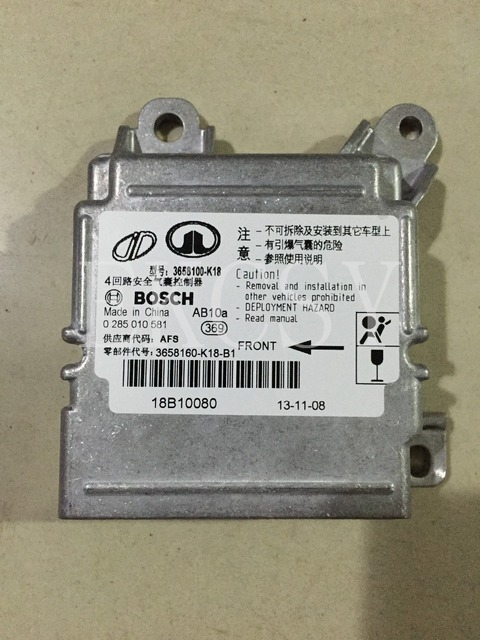 3658160-K18 ORIGINAL QUALITY FOR GREAT WALL HOVER CUV H3 GREAT WALL X240 AIRBAG ECU