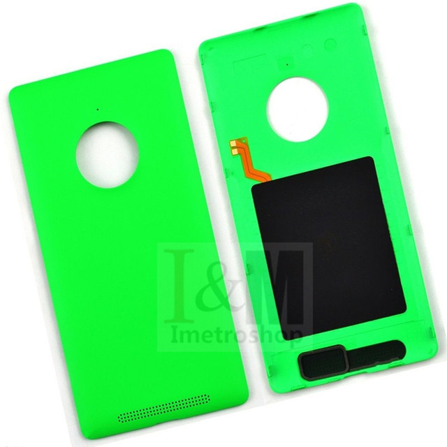 New Housing Rear Back Battery Case Cover With Qi For Nokia Lumia 830