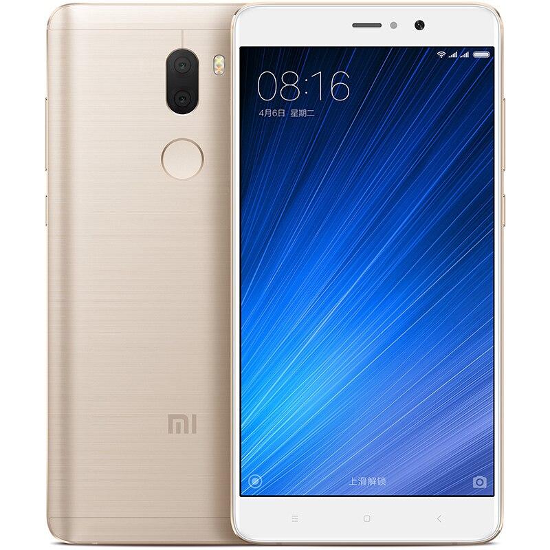Original Xiaomi Mi5S Plus 5.7 Inch 1920x1080 386PPI Snapdragon 821 Quad Core Cell phones double Sense Camera 6GB RAM 128GB ROM