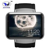 นาฬิกาa ndroid smart watch dm98 gps/gsm/wcdma/wifiนาฬิกาข้อมือ2.2นิ้วhdขนาดใหญ่หน้าจอสัมผัส1.3ล้านกล้องป้องกันการสูญเสียบลูทูธ