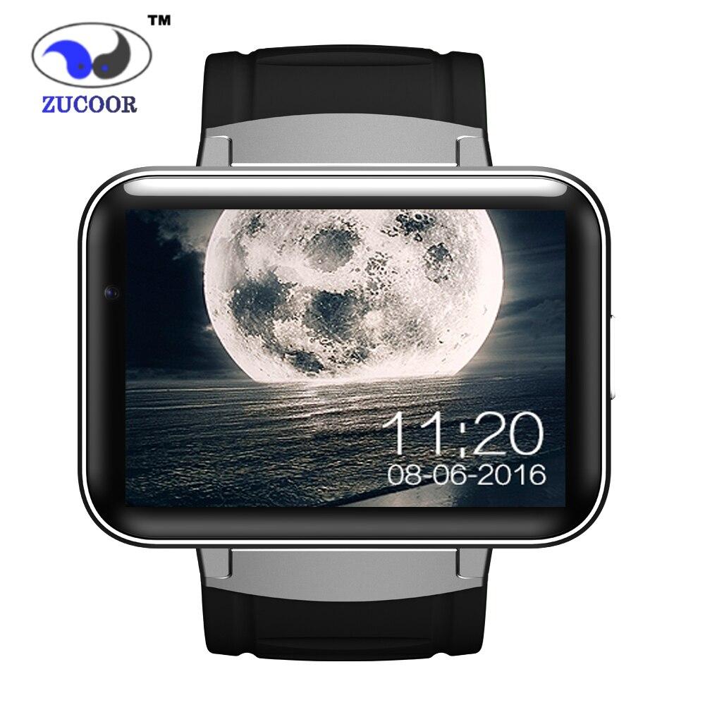 imágenes para Reloj inteligente Android DM98 GPS/GSM/WCDMA/WiFi Reloj 2.2 pulgadas Gran Pantalla Táctil de ALTA DEFINICIÓN de 1.3 Millones de cámara Anti-pérdida de Bluetooth