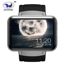 Smart Watch Android DM98 GPS/GSM/WCDMA/Wi-Fi Наручные Часы 2.2 дюймов Большой Сенсорный Экран HD 1.3 Камеры анти-потерянный Bluetooth