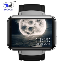 ZUCOOR Smart Watch Android DM98 GPS Tracker /GSM/WCDMA/WiFi Wristwatch 2.2 inch Big Touchscreen Anti-lost Bluetooth Mp3 Player