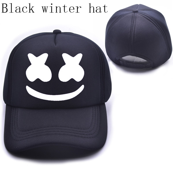 black snapback hat 22