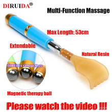 Original Multifunction Extendable Massage Claw Tool With Magnetic Ball Back Scraper Massager Stainless Steel Stop Itching