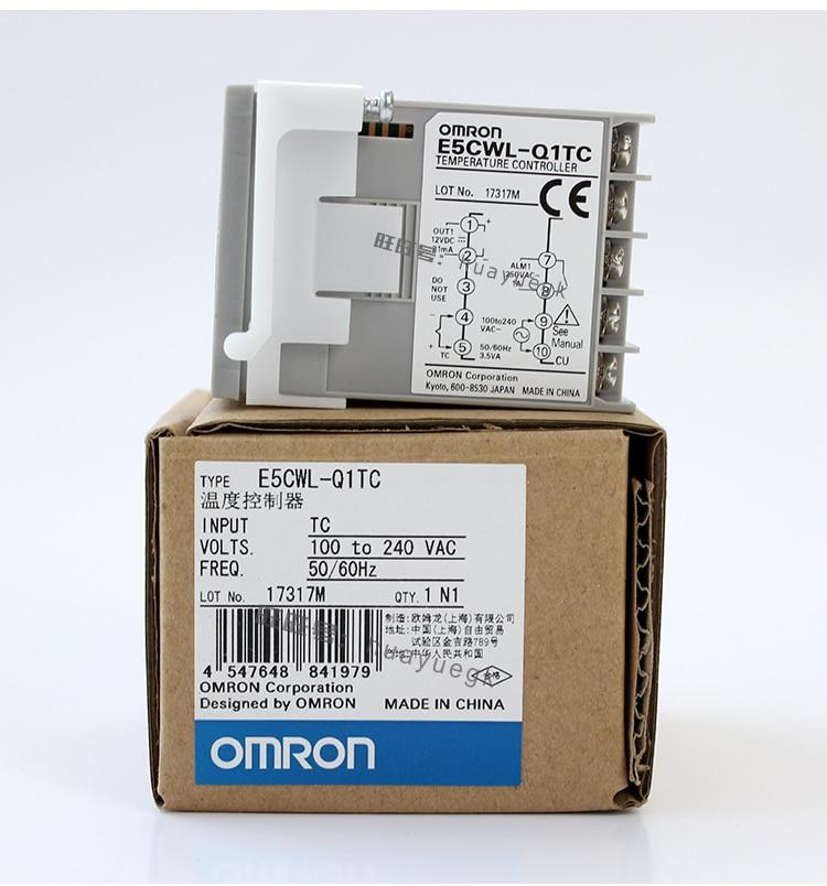 Omron Digital Temperature Controller 100 New Original E5CWL R1TC E5CWL Q1TC E5CSL RTC E5CSL QTC E5EWL