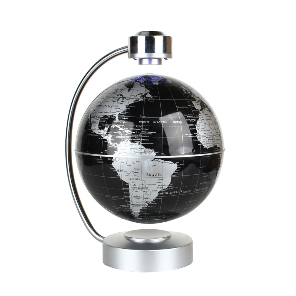 220v desk toy educational magnetic levitation floating globe world 220v desk toy educational magnetic levitation floating globe world map gift 8 inch black color in tool parts from tools on aliexpress alibaba group gumiabroncs Gallery
