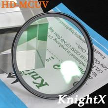 KnightX MC UV MCUV Filter For Pentax Sony Nikon Canon d5200 d3300 d3200 d5500  1100D 1200D 700D 550D 600D Choose 52MM 58MM 67MM цены