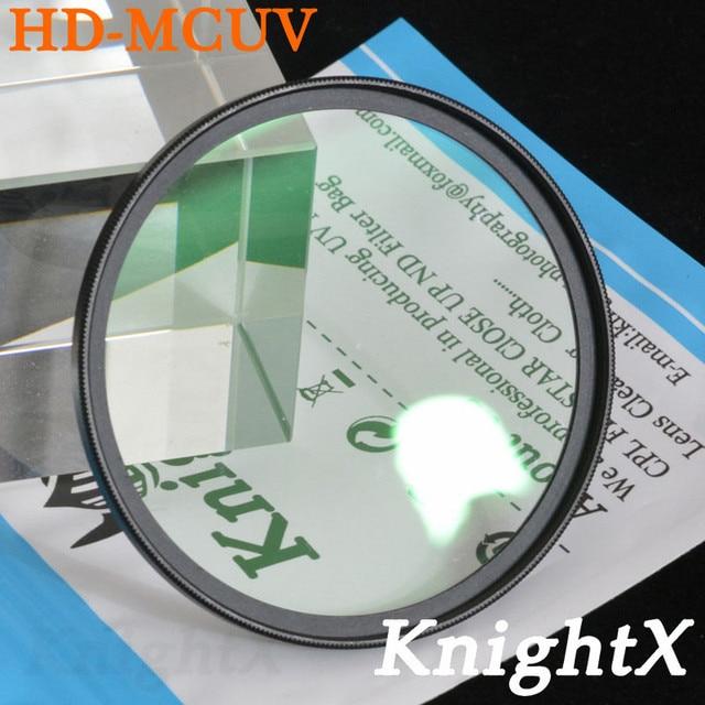 KnightX 49 52MM 58MM 67MM HD MC UV MCUV Filter For Pentax Sony Nikon d5300 600d d3200 d5100 d3300 550D 600D lentes d5500 d7200