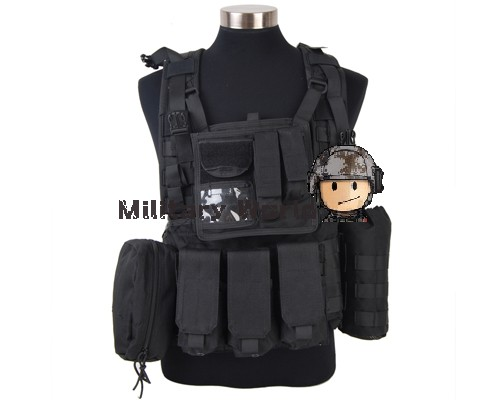 Airsoft Military Paintball Army Hunting 1000D Tactical Molle RRV Scout Vest High Quality Nylon Vest  Tan/Black/OD/Woodland Camo rolsen rrv 120
