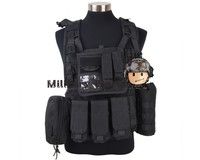 4 Colors Airsoft Military R 1000D Eagle MLCS Tactical Molle RRV Scout Vest High Quality Nylon