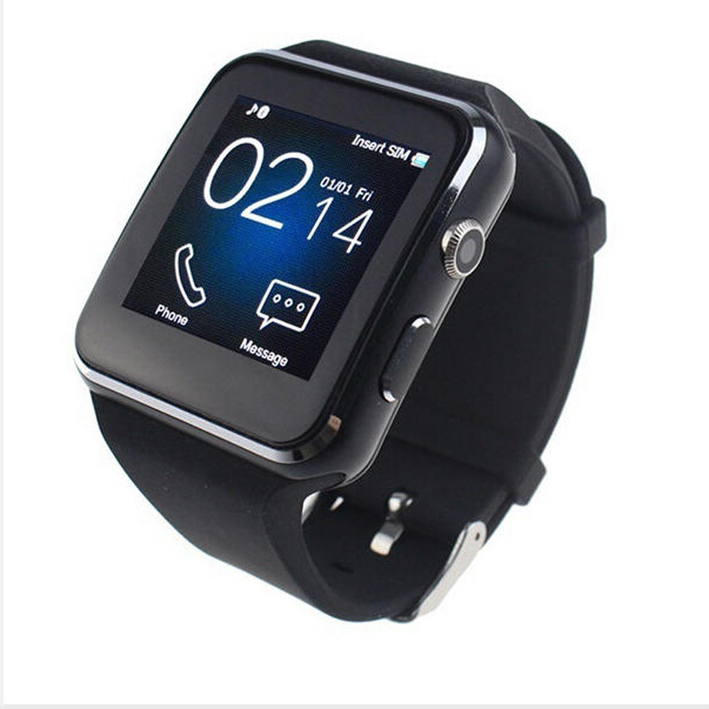 Praktisch Susenstone Hohe Qualität Kristall X6 Gekrümmte Hd Kamera Sim-karte Anruf Schlaf Monitor Eingebaute Apps Smart Uhr Uhr Herrenuhren Digitale Uhren