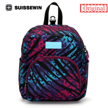 Suissewin New Arrival-Fashionable Children Bag  swissgear wenger Backpack For Children Aged 1-7 With Anti-Lost Band Printing
