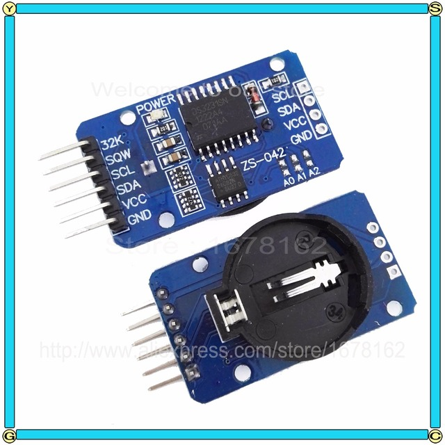 real time clock with seconds