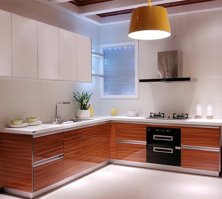 Linkok Furniture Mdf Akrilik Lemari Dapur Dengan Aksesoris Di Pabrik Cina Kitchen Furniture Cabinet Furniturecabinet Accessories Aliexpress
