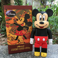Mickey Mouse Bearbrick Action Figure 400% Be@rbrick Cos Mickey Mouse Doll PVC ACGN figure Toy Brinquedos Anime