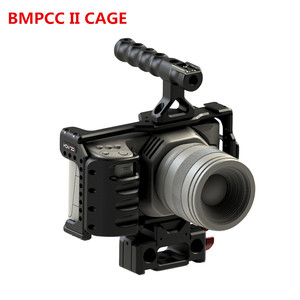 Image 5 - HONTOO BMD BMPCC 4K Cage Rig DSLR RIG Cage Baseplate Top Handle  15mm camera rig FOR BlackMagic Pocket Cinema Camera 4K