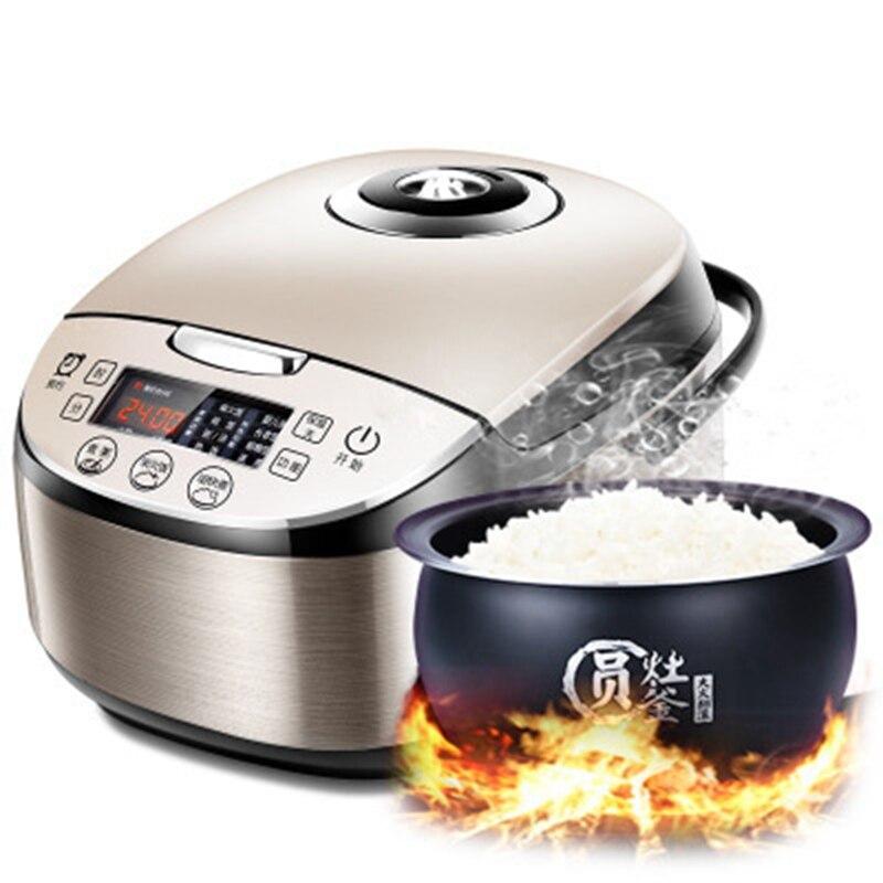 DMWD многофункциональная 4л интеллектуальная рисоварка электрическая Пароварка для еды автоматическая машина для приготовления торта 0 24 часа высокое качество