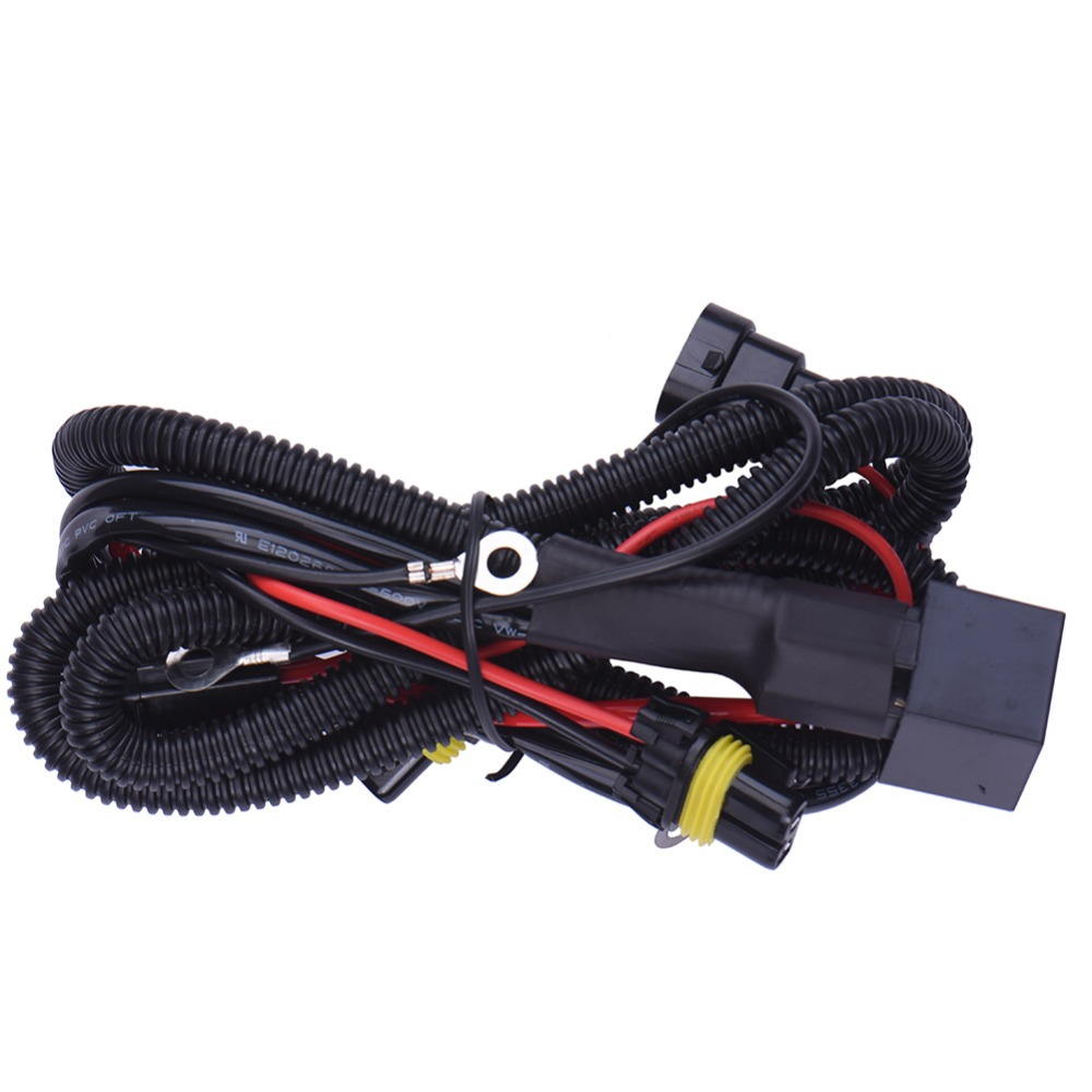 Universal car kit DRL 9006 12V 35W Excellent Quality Harness For Xenon HID Conversion Kit HB4 Light Relay