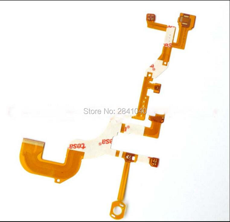 NEW <font><b>Lens</b></font> Back Main Flex Cable For <font><b>SONY</b></font> Cyber-Shot DSC-WX300 DSC-<font><b>WX350</b></font> WX300 <font><b>WX350</b></font> Digital Camera Repair Part (No Socket) image