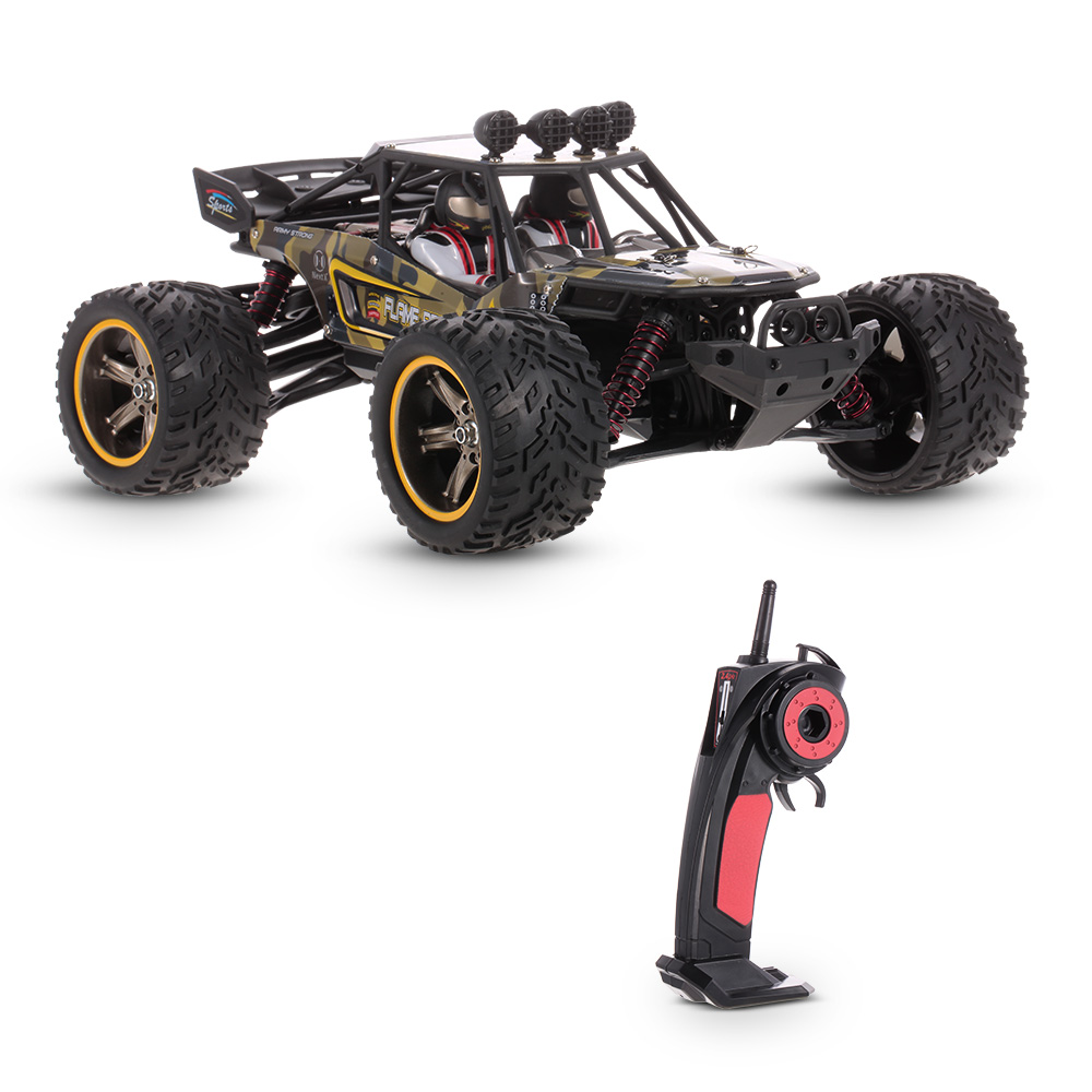 Original RC Truck FLAME PEACE S916 1/12 2WD 26MPH High Speed Off-Road Truck Desert Vehicle Kids Toy
