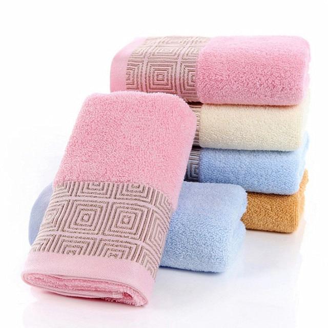"Lxuray מלון אמבטיה 100% טהור כותנה לעבות רך מגבת מהיר יבש למבוגרים אמבטיה עבה סופר סופג מגבת 34x76 ס""מ w11-1"