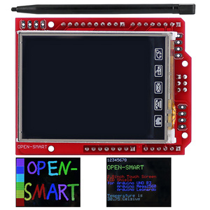 Image 1 - 2.4 pollici TFT LCD modulo Display Touch Screen Shield ILI9340 IC sensore di temperatura a bordo + Penna per Arduino UNO R3 /Mega 2560 R3