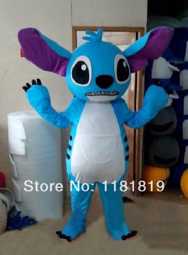 MASCOT stitch mascot costume custom fancy costume anime cosplay kits mascotte theme fancy dress carnival costume