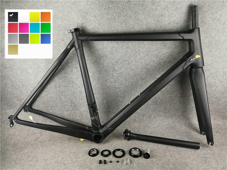 2018 c60 Carbon rennrad Rahmen vollcarbon fahrrad frameset carbon ...