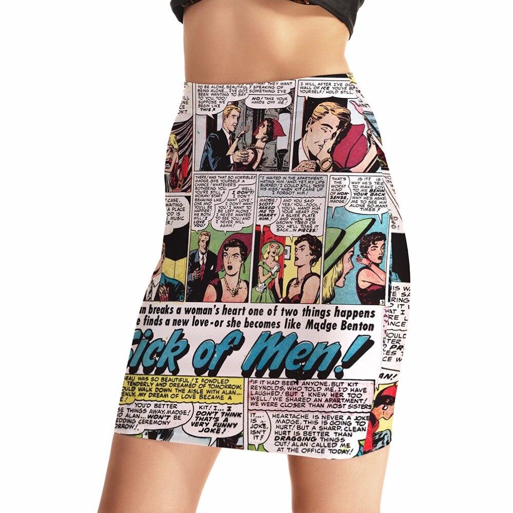 Рисунок юбки мини