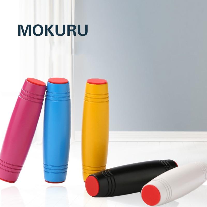 Ξύλο MOKURU Ανακουφιστής Stress Spinner για τα χέρια Fidget Παιχνίδια για τα παιδιά Flip Παιχνίδια για τα χέρια-μάτια Συμπύκνωση των χεριών K007