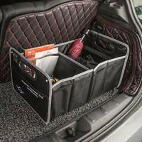 1X Auto Storage Box Car Trunk Bag Interior Accessories For Mini Countryman Cooper Clubman R55 R57 R58 R59 R60 S JCW F54 F55 F57