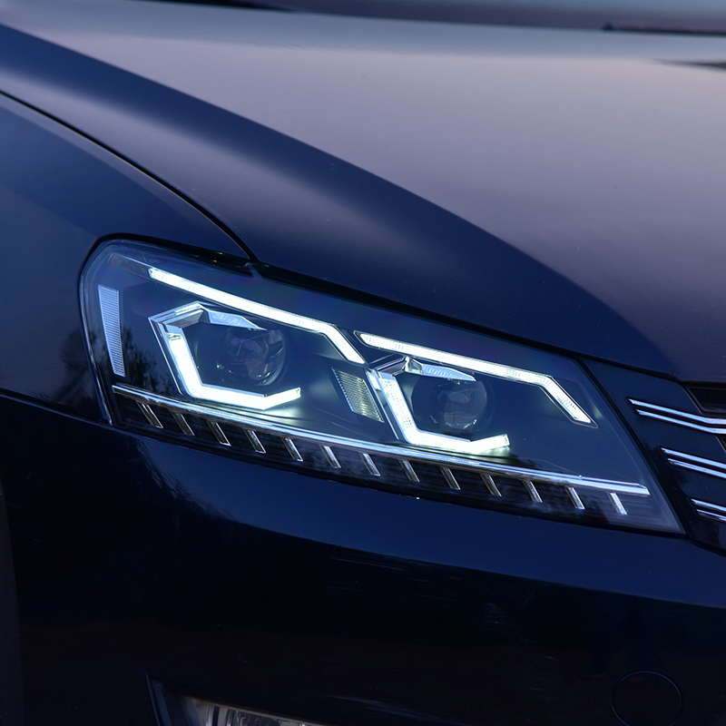 Car Styling for Passat B7 US Verson 2012 2016 Headlight For Passat B7 Headlight DRL D2H