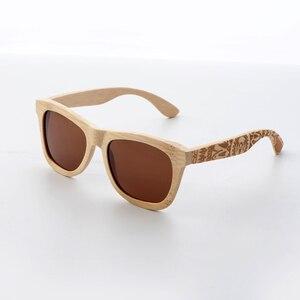 Image 3 - CUUPA, Ретро стиль, деревянные женские солнцезащитные очки, мужские, высокого качества, фирменный дизайн, резная бамбуковая оправа, поляризационные солнцезащитные очки, пляжные очки
