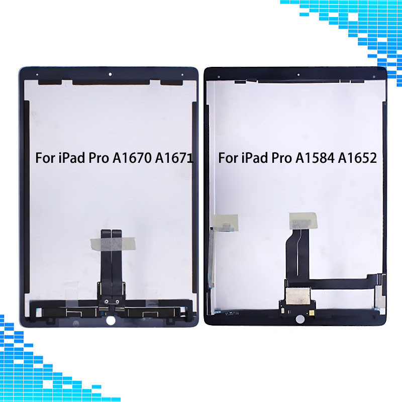 For iPad Pro 12 9 A1584 A1652 A1670 A1671 LCD display Touch screen assembly with board