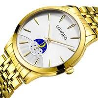 2017 Gold Watch Women Famous Top Brand Luxury Quartz Wrist Watch Women Golden Clock Quartz Watch