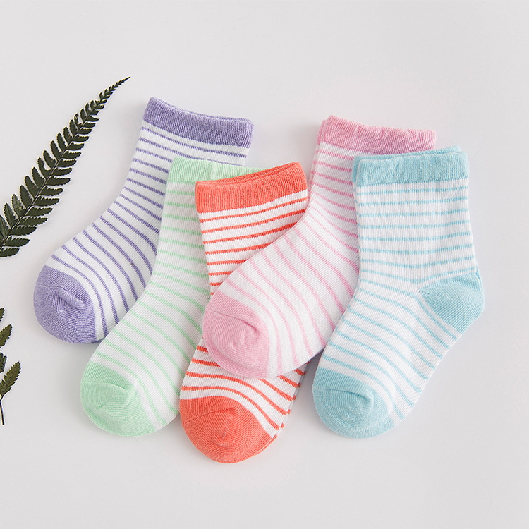 40 Pcs = 20 Pairs 2018 Cotton Socks Soft Children Cheap Stuff Baby Accessories Floor Kids Baby Boys Girls Socks Conjunto Menina
