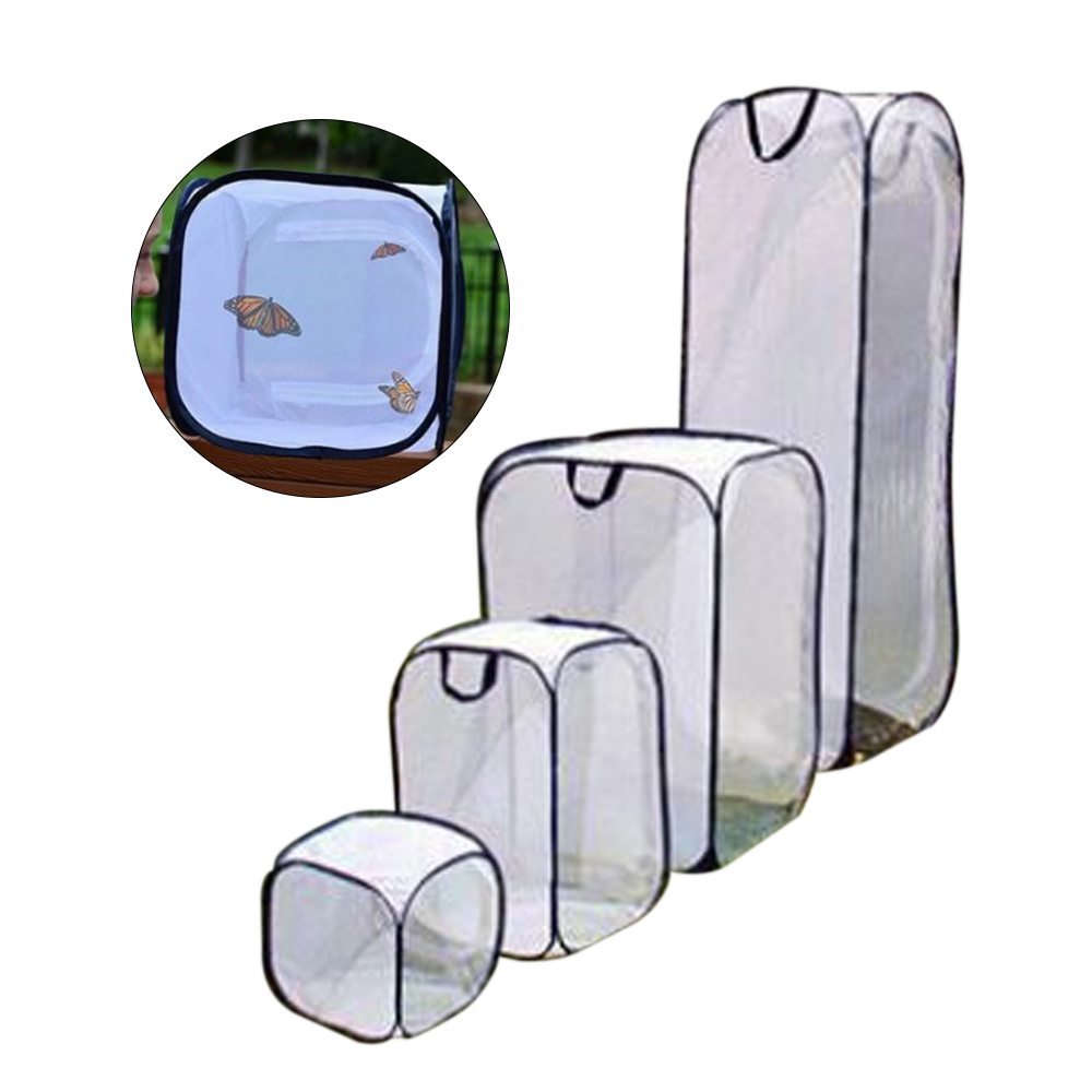 Enclosure Breeding-Cages Mantis-Stick Insect Praying Cage-Housing Butterfly Net Cloth