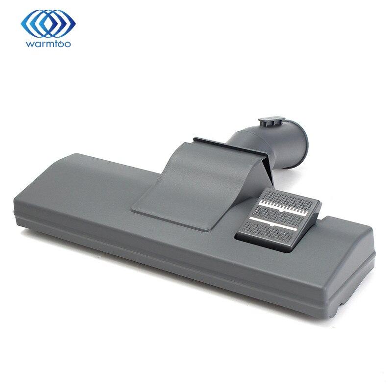 32mm Universal Vacuum Cleaner Slim Hoover Brush Head Hard Floor Tool with Wheels Home Appliance Parts 32mm universal vacuum cleaner horsehair floor brush with wheels vacuum accessories for fc8602 fc8604 fc8606 fc8607 fc8207 ro400