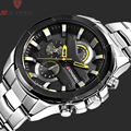 LONGBO Mens Watches Top Brand Luxury Waterproof Fashion Casual Quartz Sport Watch Full Steel Men Watch Relogio Masculino 80242