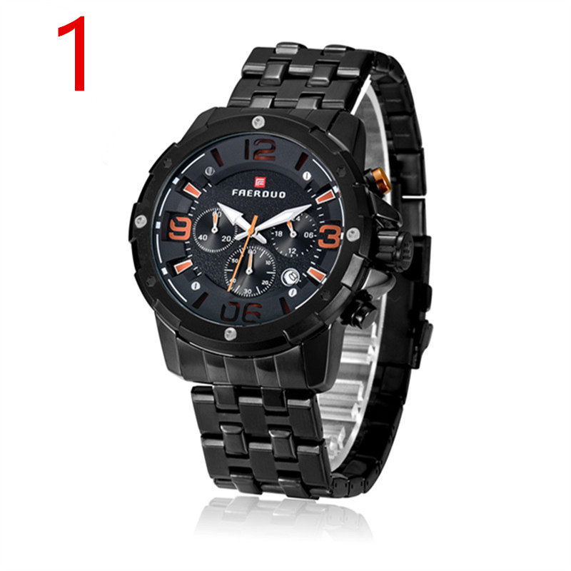 Mens new stainless steel business luxury watch..9Mens new stainless steel business luxury watch..9