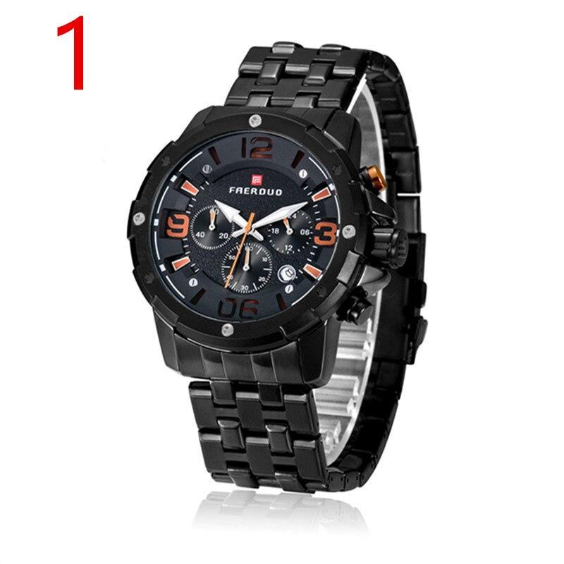 Nouvelle montre de luxe pour hommes en acier inoxydable. 9Nouvelle montre de luxe pour hommes en acier inoxydable. 9