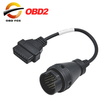 2017 for IVECO 38Pin Cable OBD 2 Diagnostic Adapter Connector Car Diagnostic Interface Cable For IVECO Trucks free shipping
