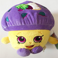Fruit Lovely Cute Shop Muffin Cartoon Figure 19-25cm Stuffed Toys ,Soft Plush Puppets Christmas Gift For Kids