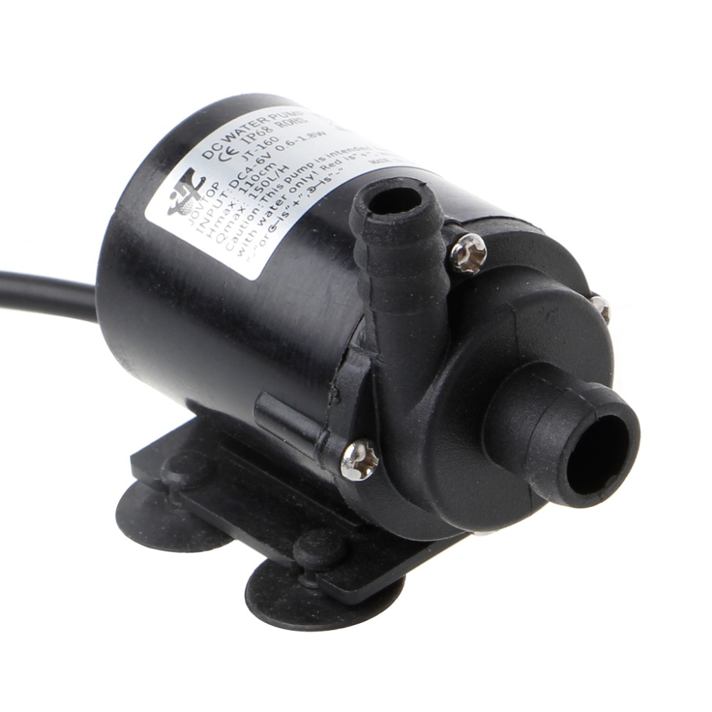 DC 5V USB Solar Power Hot Circulation Water Pump Brushless Motor Aquarium Pond Submersible Water Pump