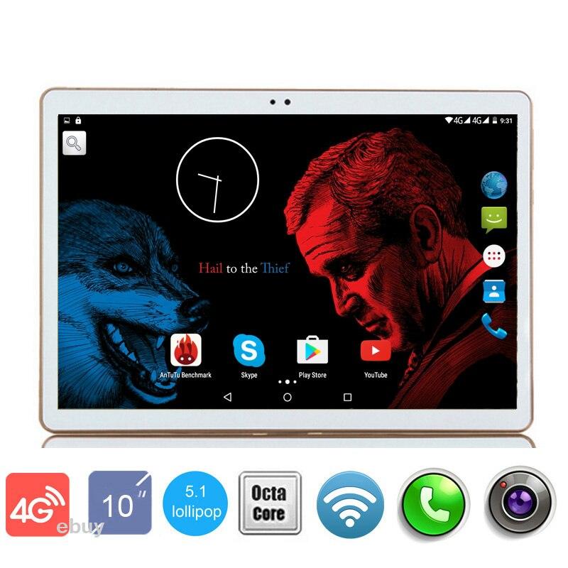 "bilder für 2017 neueste Dhl-freies 10 zoll Tablet PC 4G LTE Octa-core 4 GB RAM 64 GB ROM 1920*1200 IPS GPS Metallgehäuse Android 6.0 Tablet 10,1"""